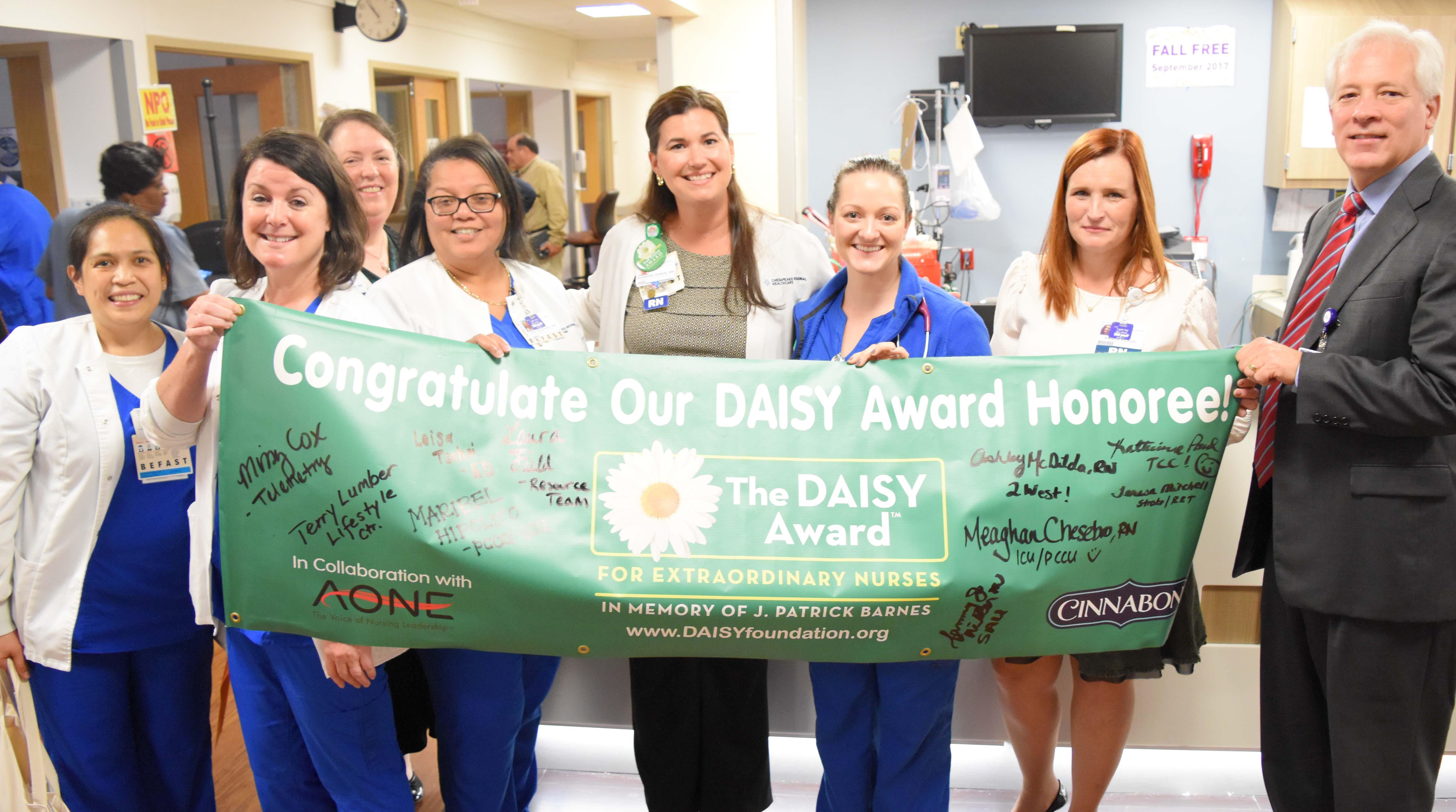 Chesapeake Regional DAISY Award Group Photo.jpg