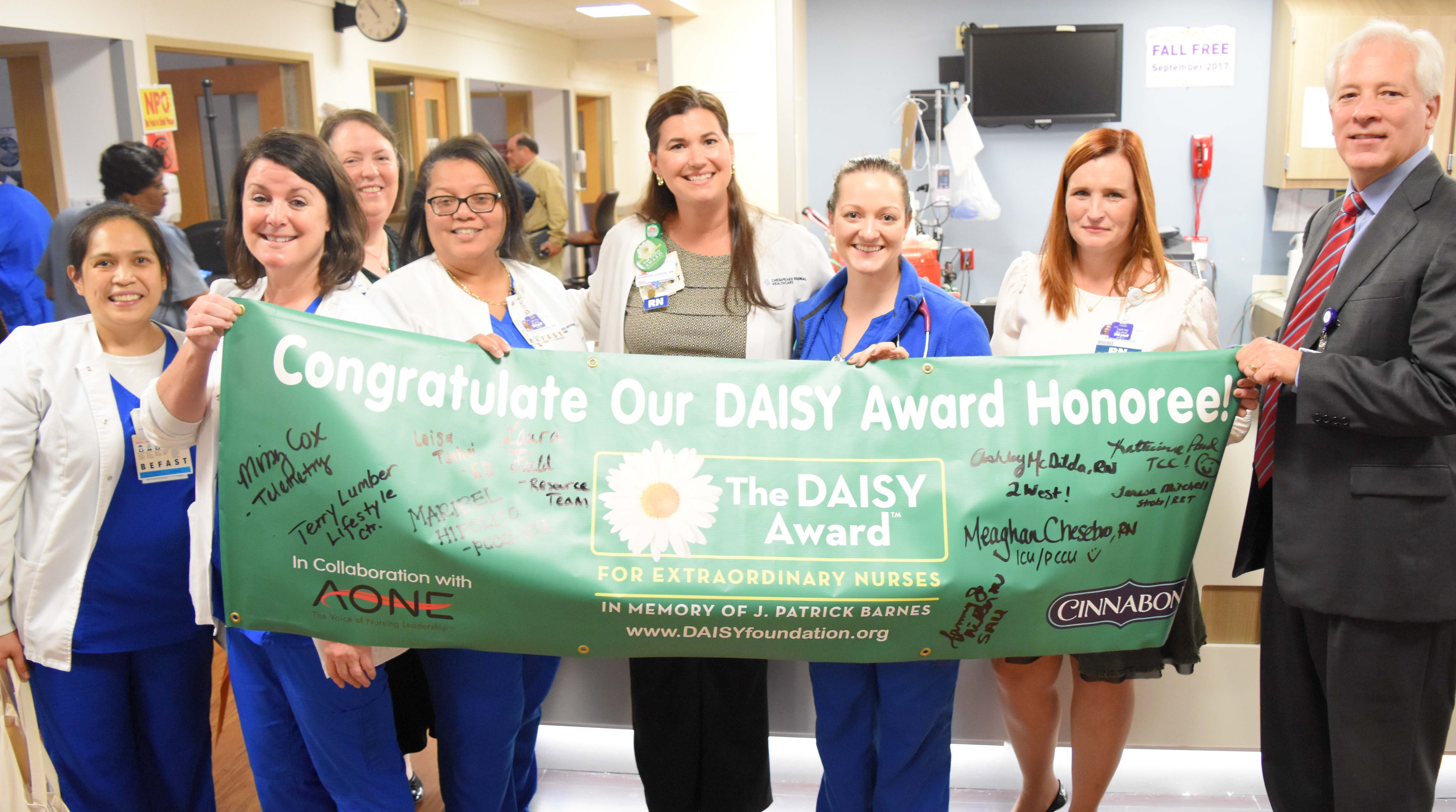 Chesapeake Regional DAISY Award Group Photo.jpg