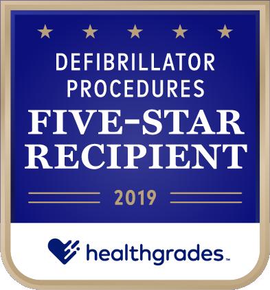 Defibrillator procedures Five-star recipient