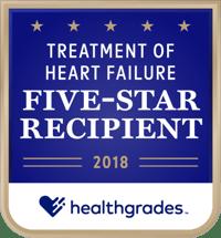 Treatment of Heart Failure Five-Star Recipient